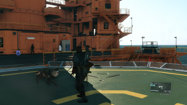 Ground Zeroes Style HUD