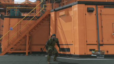 Msf Fatigues Gas Mask At Metal Gear Solid V The Phantom Pain