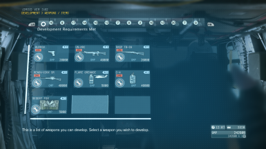 Quick Start Save Game at Metal Gear Solid V: The Phantom
