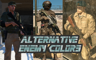 Alternative Enemy Colors
