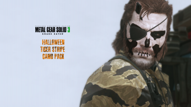 MGS3 Halloween Tiger Stripe Camo Pack