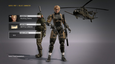 MGS4 Haven Trooper for Female DD Battle Dress