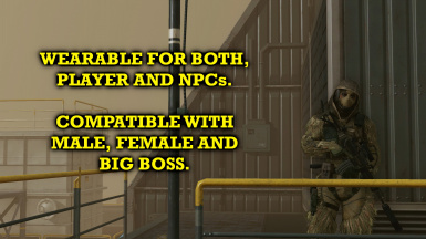 Ghillie Outfit From MGO3