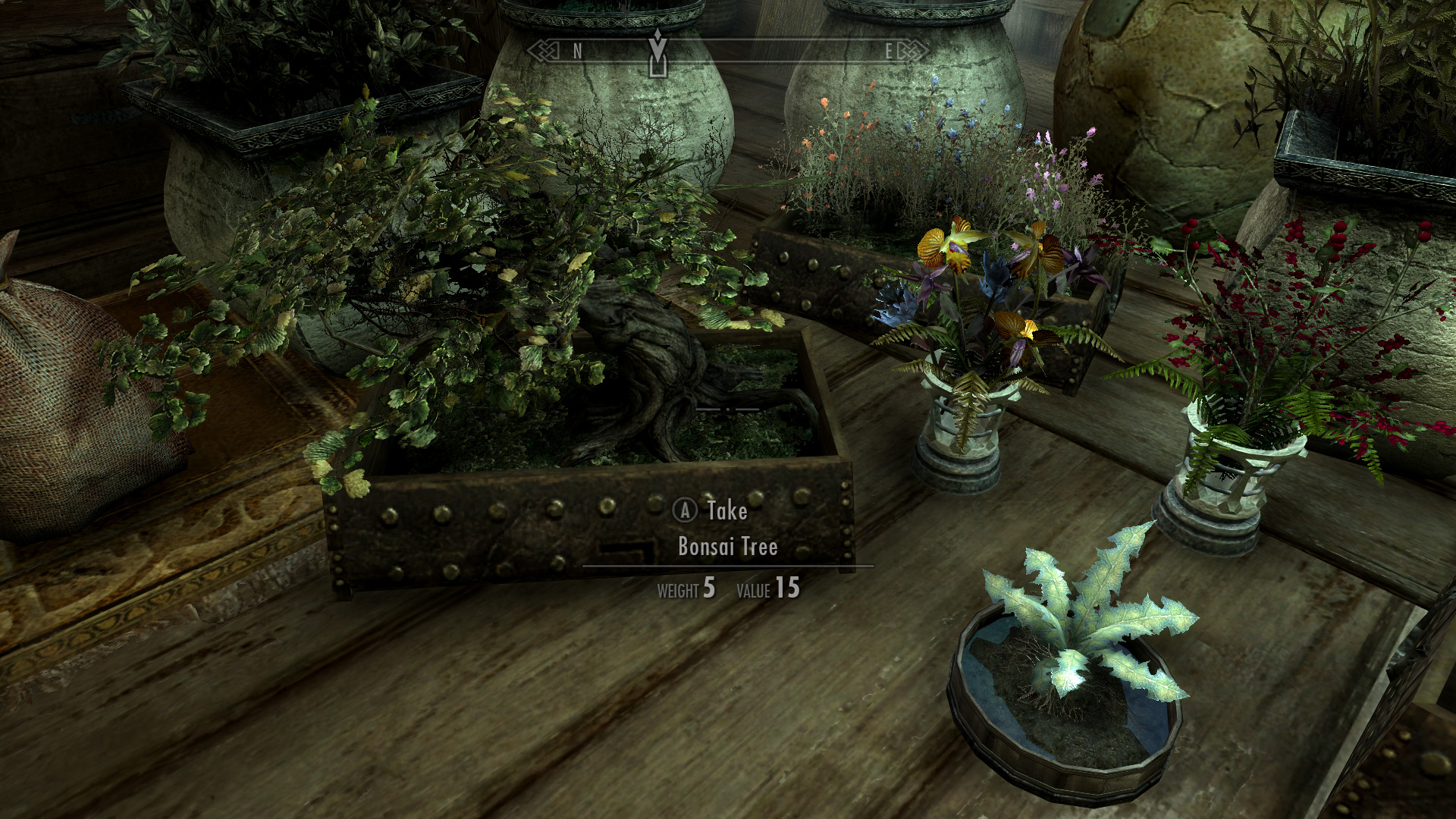 House Decorations Plants And Flowers At Skyrim Nexus Mods And