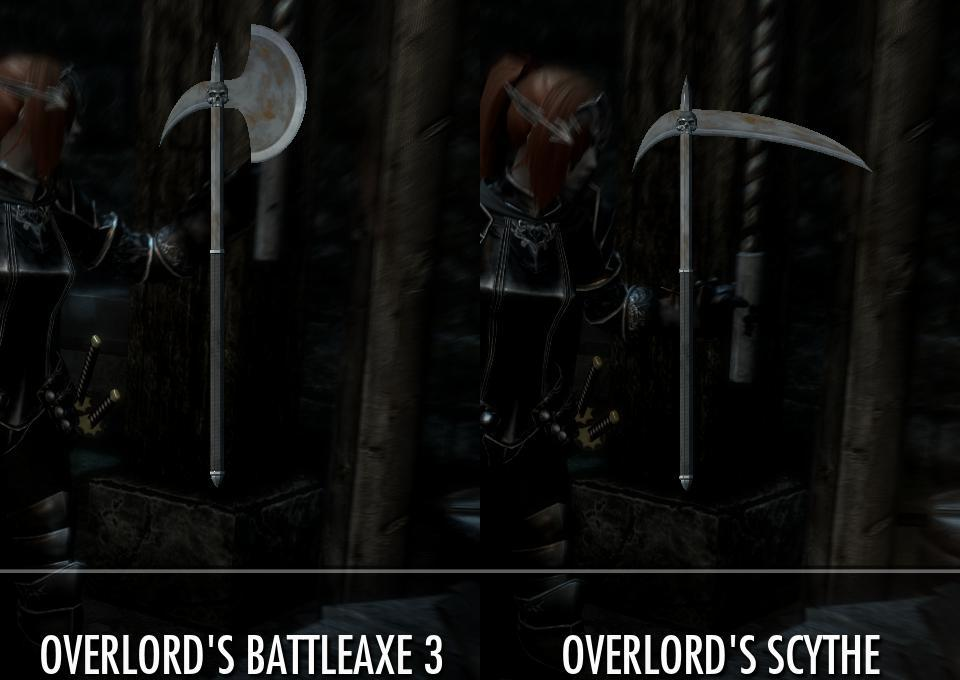 Overlord Axe 1_04 at Skyrim Nexus - mods and community