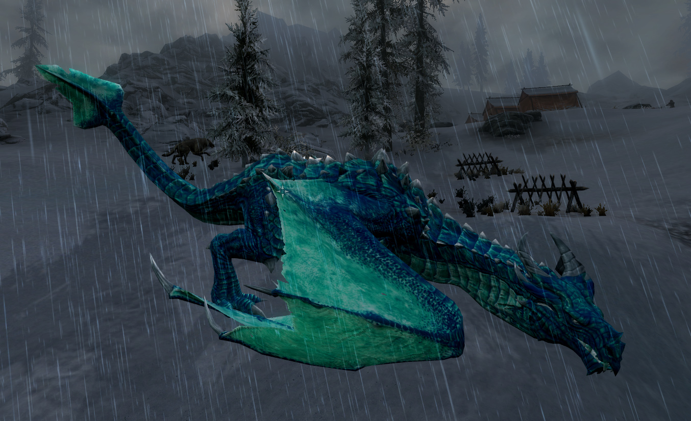 Pictures of New Dragon Skyrim - #rock-cafe
