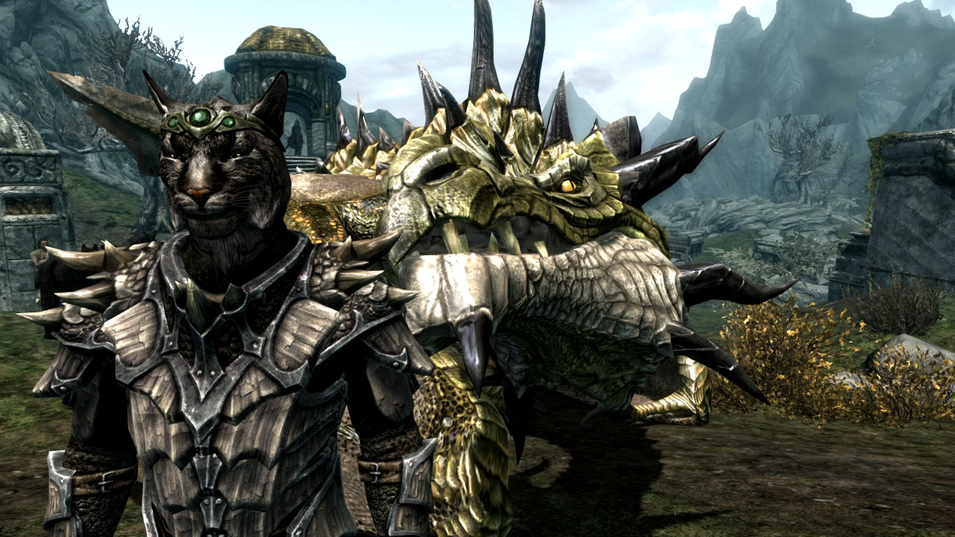 how to call and ride a dragon in skyrim