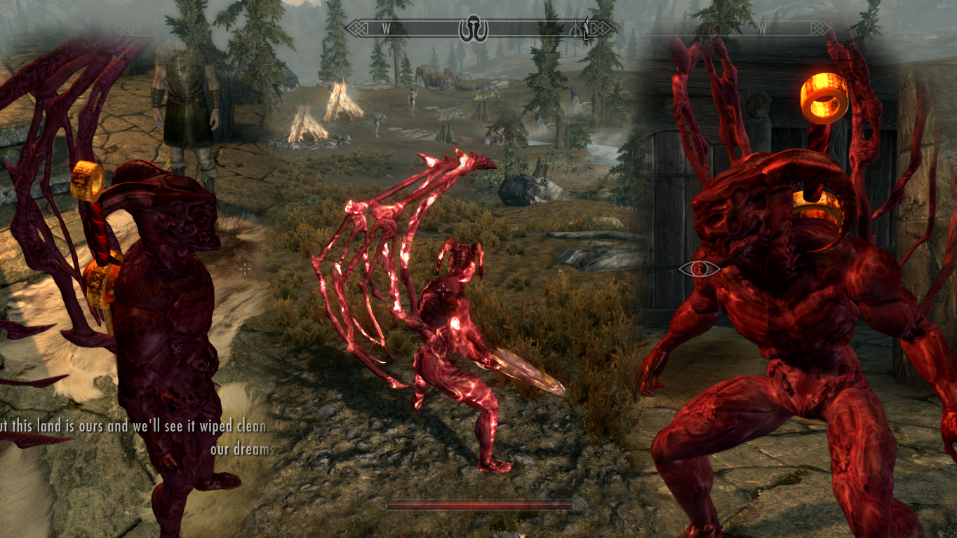 Zigurdz Demon Form at Skyrim Nexus - mods and community