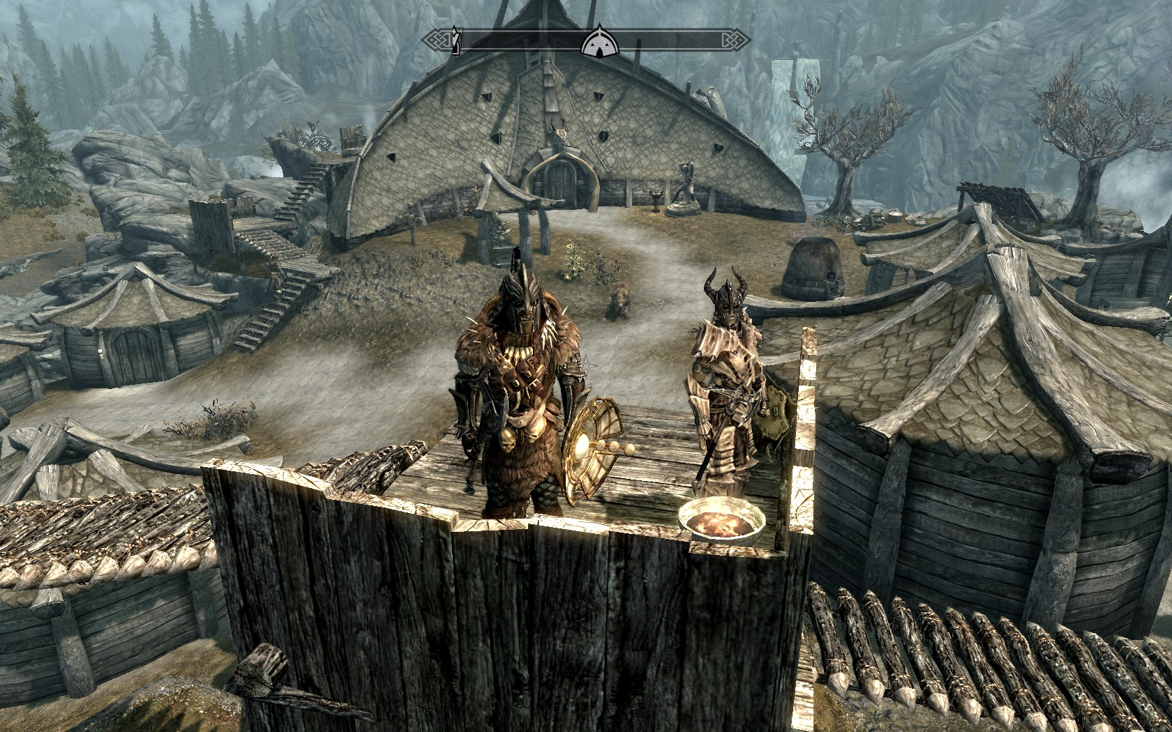 skyrim how to find orc stronghold