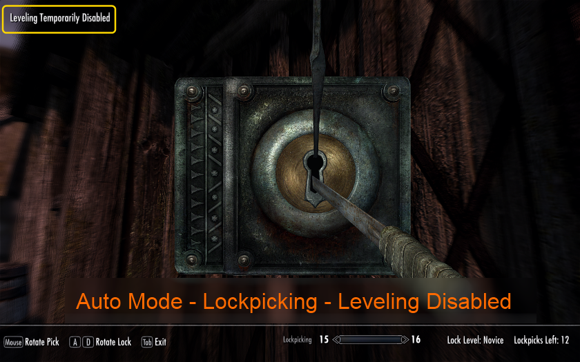Non Combat Skills Dont Contribute to Player Level at Skyrim