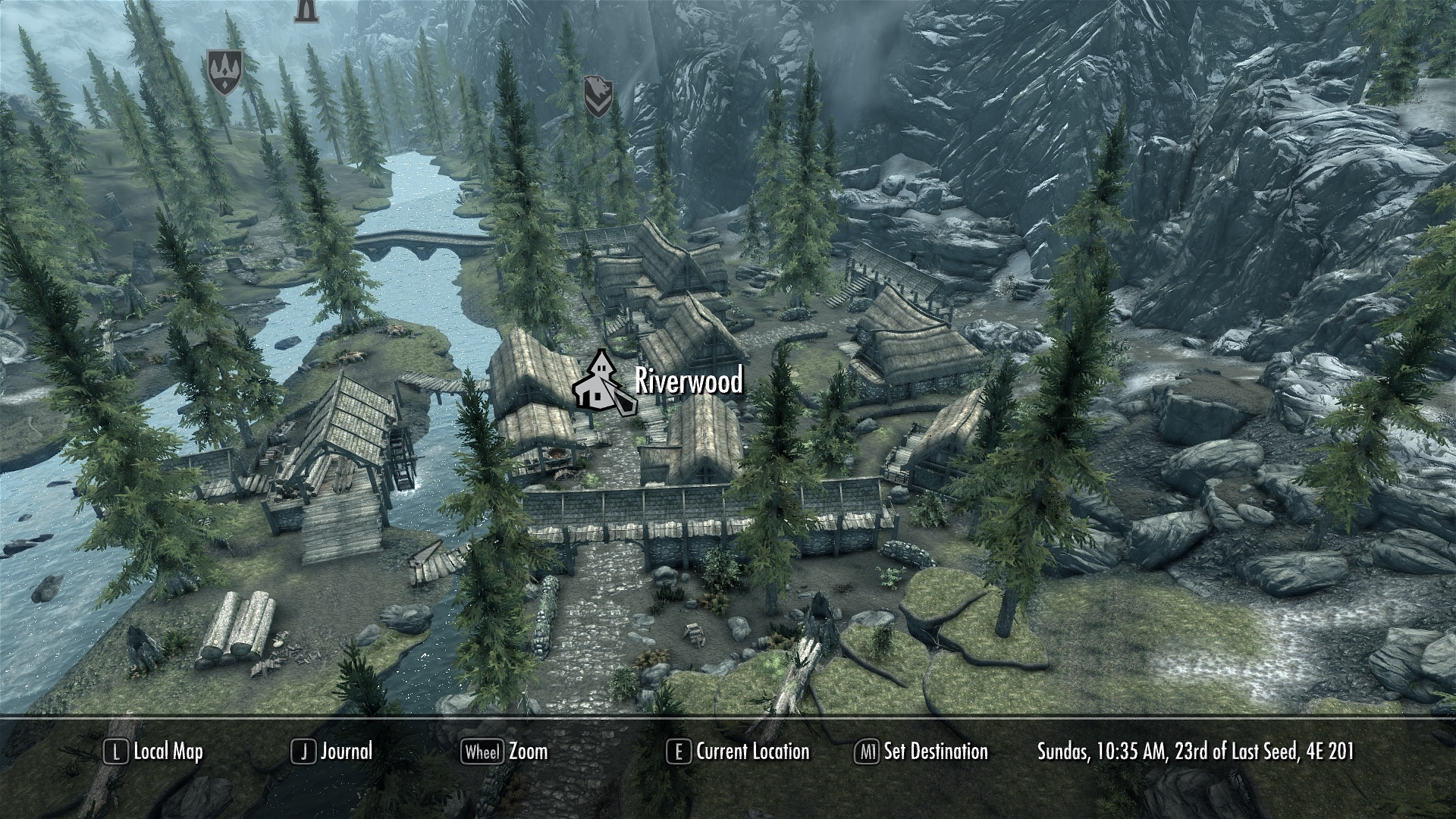 world map in full 3d at skyrim nexus mods and munity