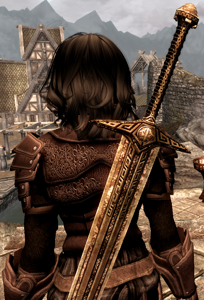 Fair And Balanced >> Advanced Alloys Dwarven Greatsword at Skyrim Nexus - mods and community