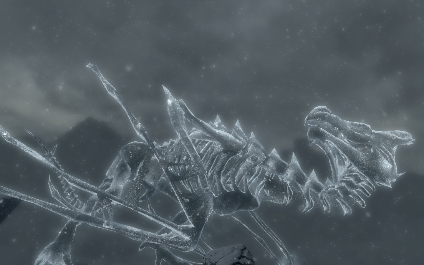 Pin Undead Frost Dragon Vedstrunah At Skyrim Nexus Mods