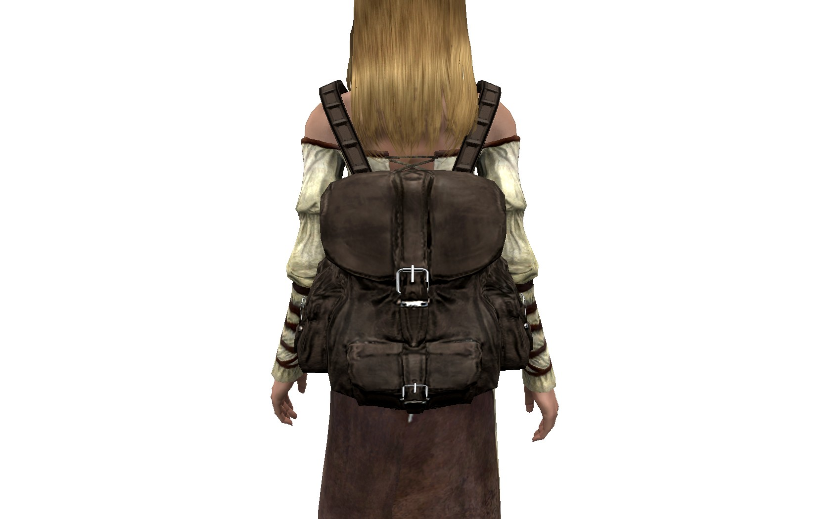 Leather Backpack - Czech translation at Skyrim Nexus - mods and ...