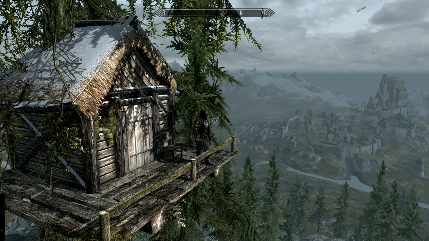 hunters treehouse at skyrim nexus mods and community - Treehouse