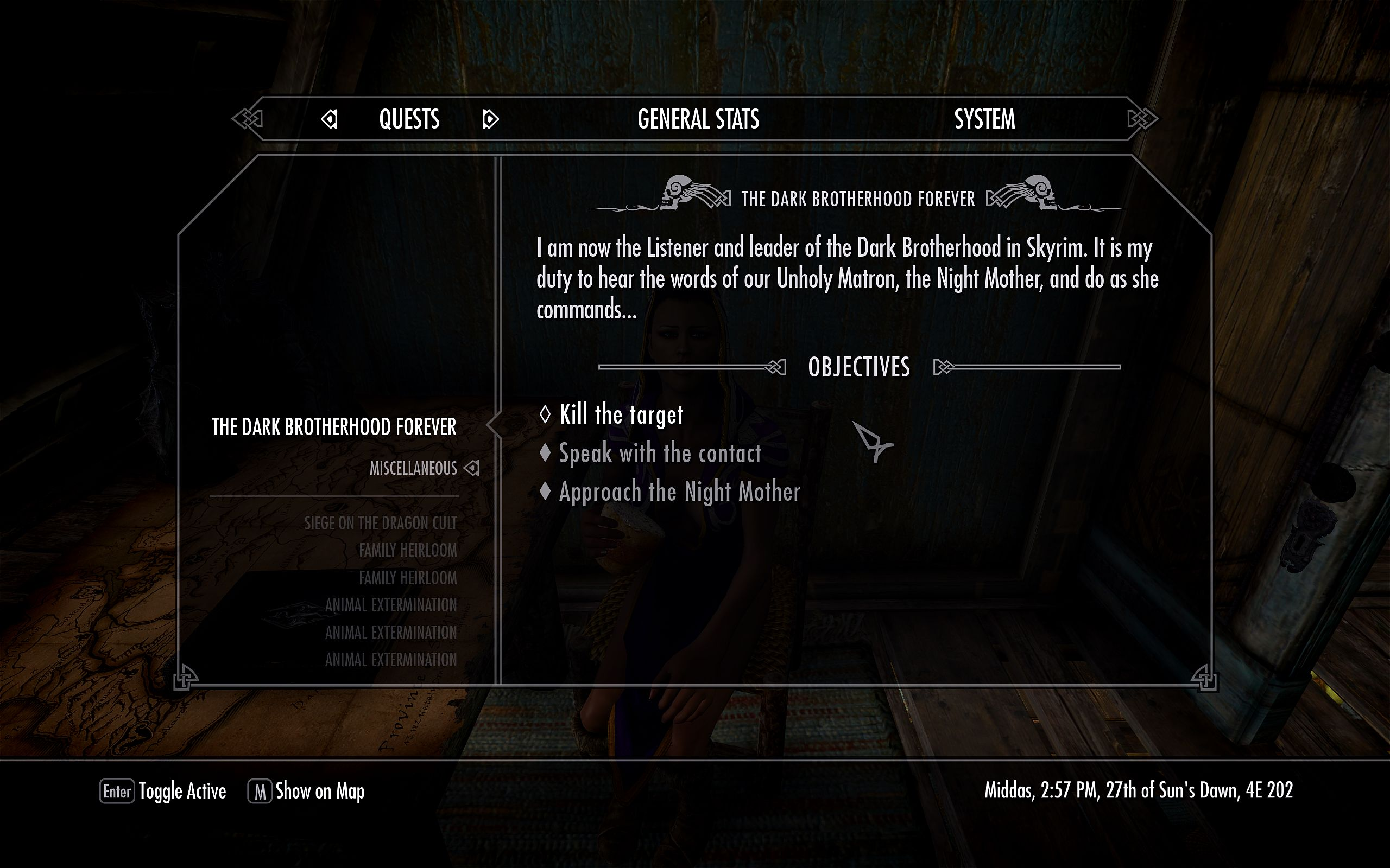 Stop The Dark Brotherhood Forever Quest From Returning at ...