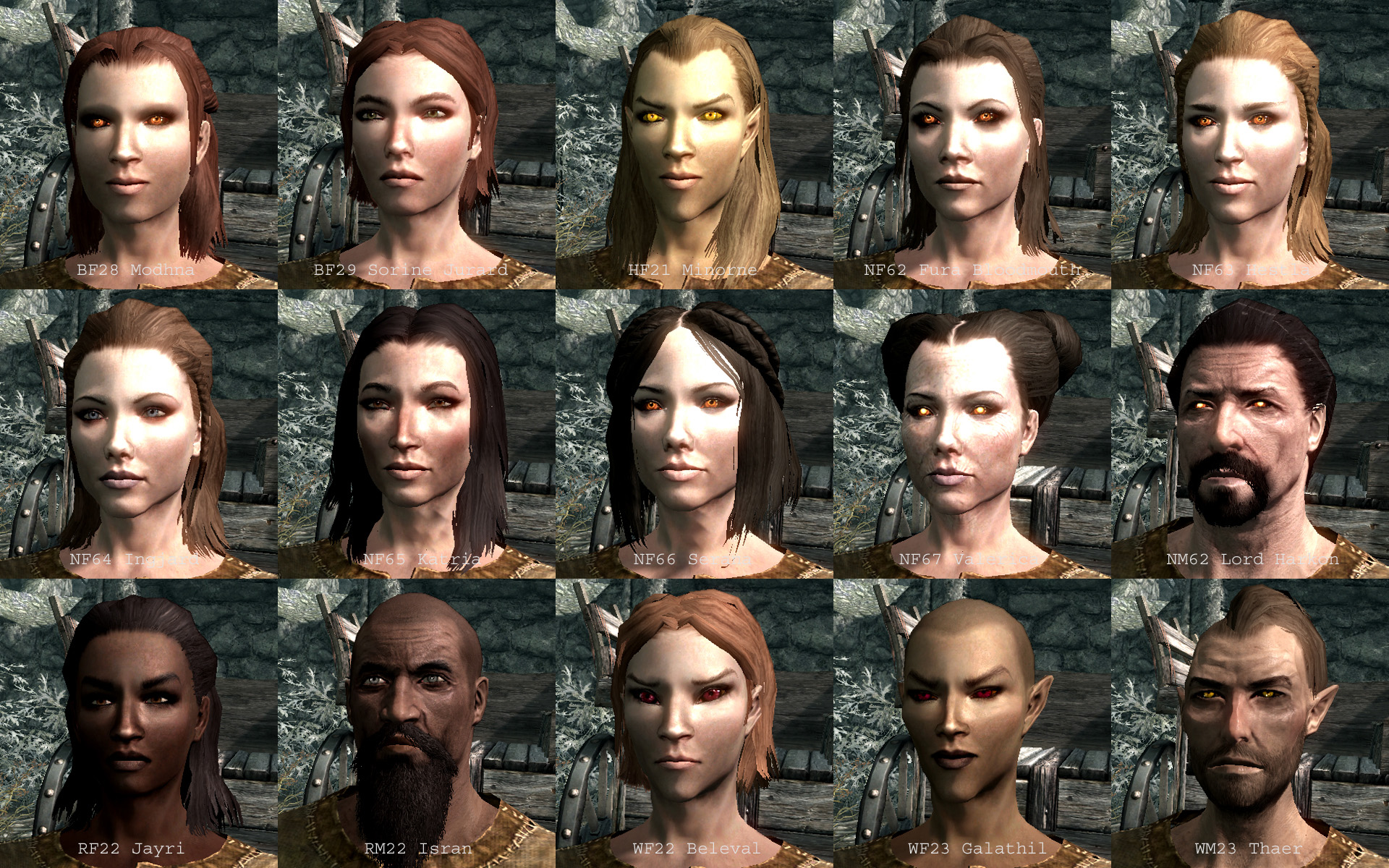 Face Paint For Skyrim Se
