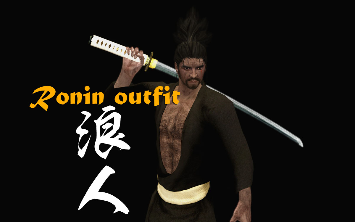 Ronin outfit at Skyrim Nexus - mods and community