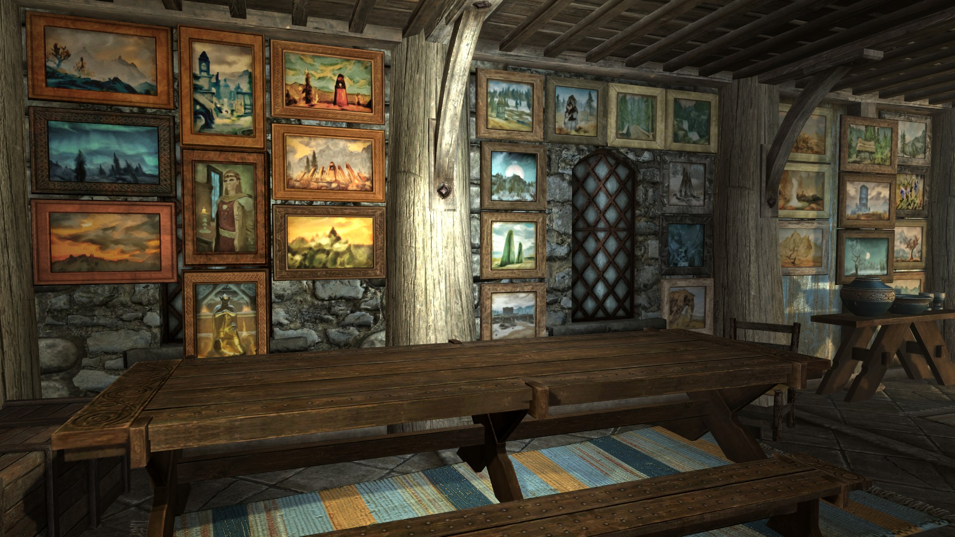 Paintings And Frames At Skyrim Nexus Mods And Community
