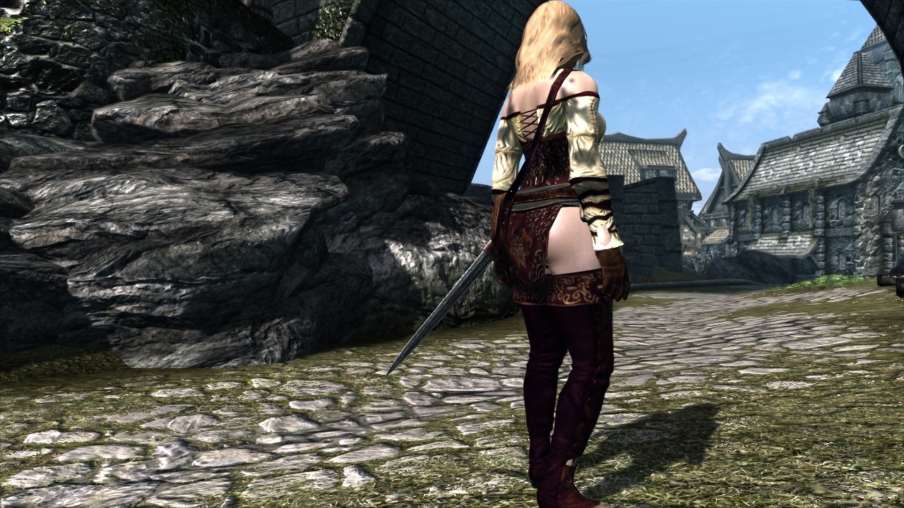 skyrim how to add bodyslide support to clothing