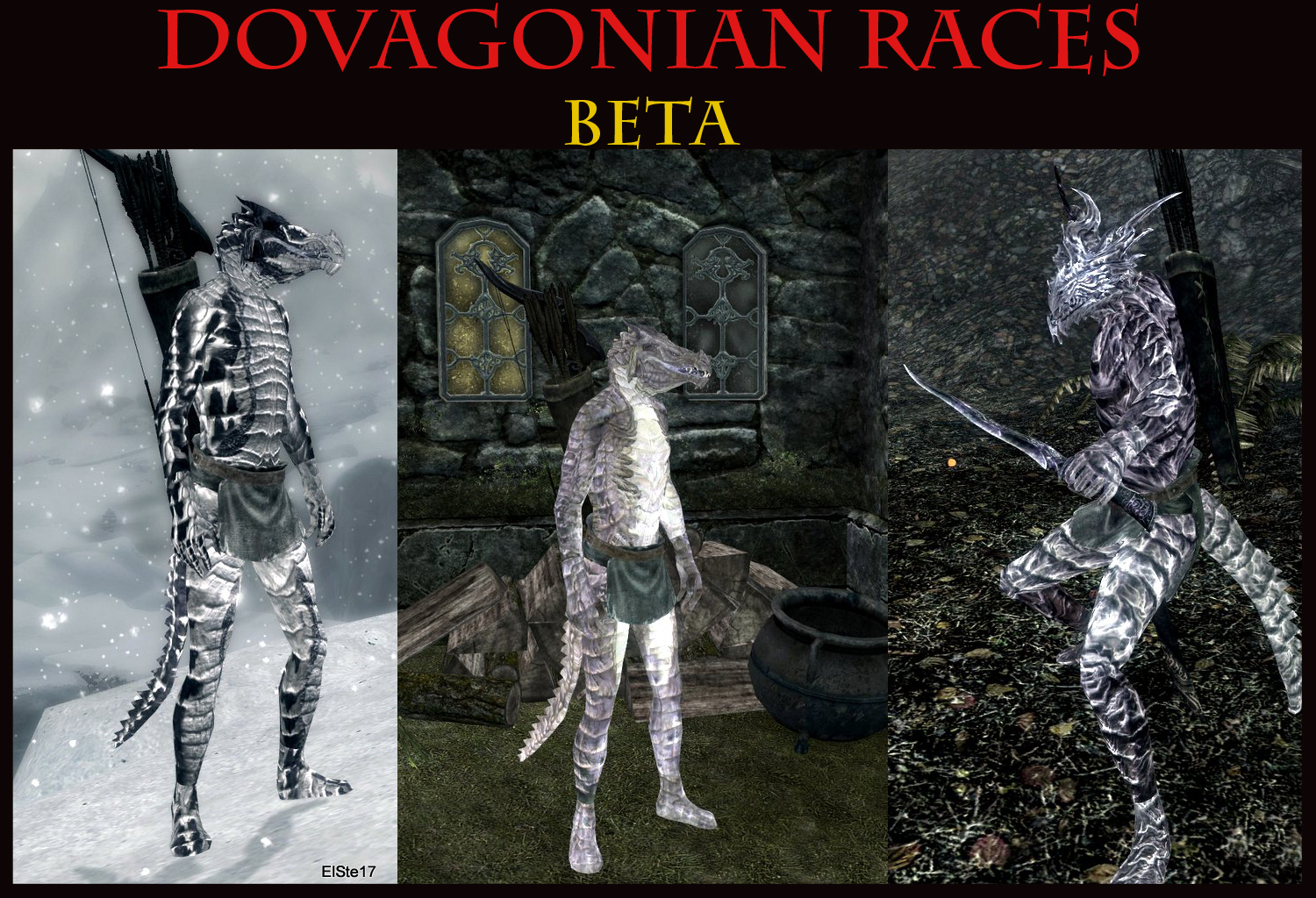Dovagonian Races Beta at Skyrim Nexus - mods and community