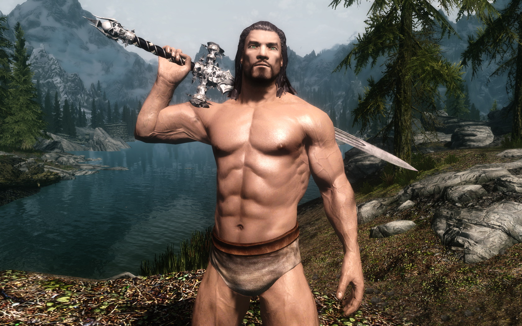 Big dick erections male mods skyrim porn pictures