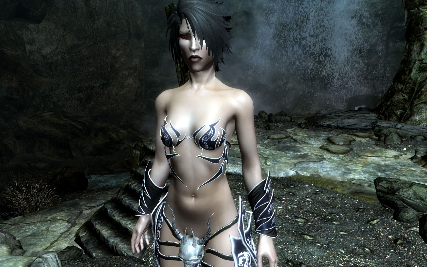 Dark elf witch naked erotic movies