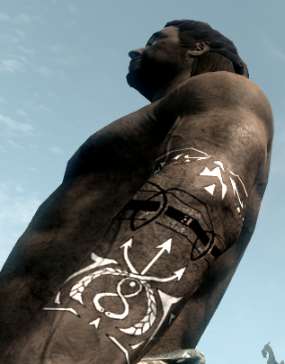 scar and riza tattoos from fullmetal alchemist at skyrim nexus mods and community. Black Bedroom Furniture Sets. Home Design Ideas