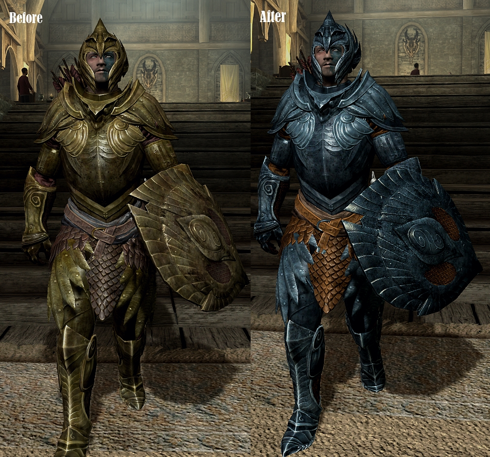Black Glass Armor Weapons