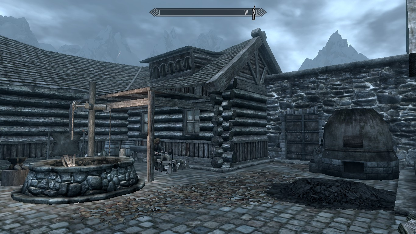 blacksmith forge skyrim - photo #28