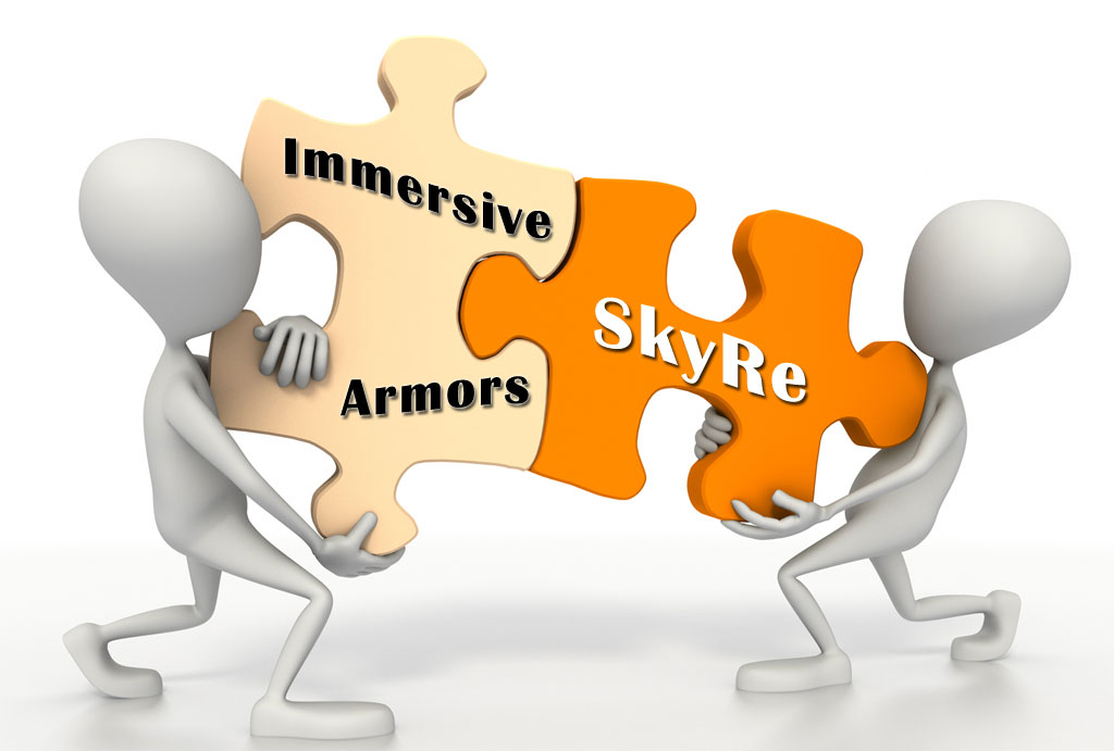 how to add armors skyre