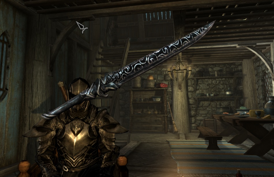 Ebony greatsword