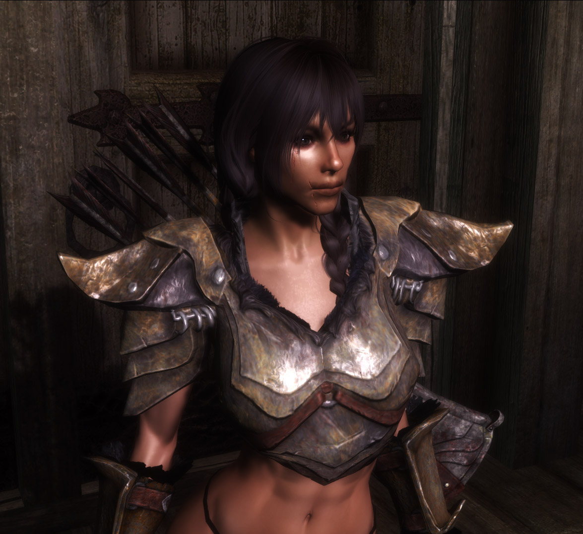 Weathered Orcish Armor and Weapons Retexture at Skyrim ...