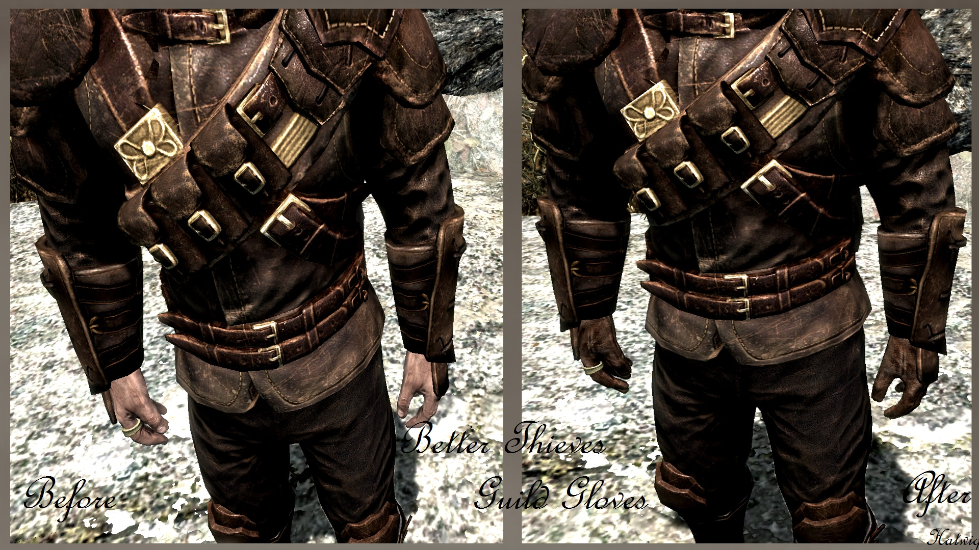 Black gloves skyrim - 201 Endorsements