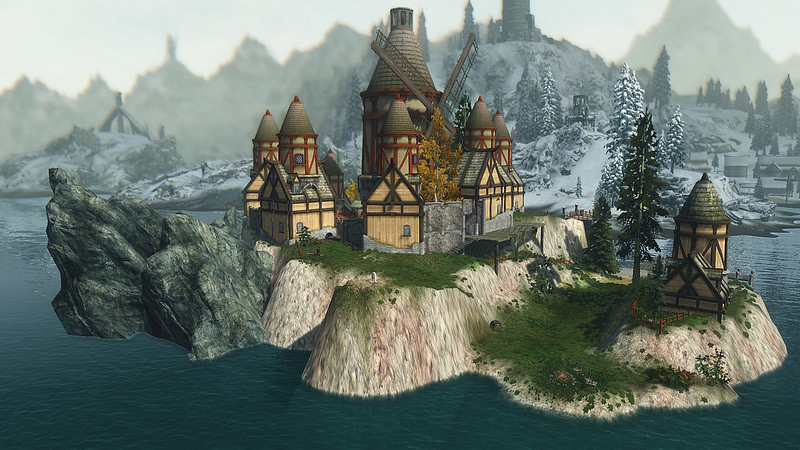 Windfall island from the legend of zelda the wind waker at skyrim ...
