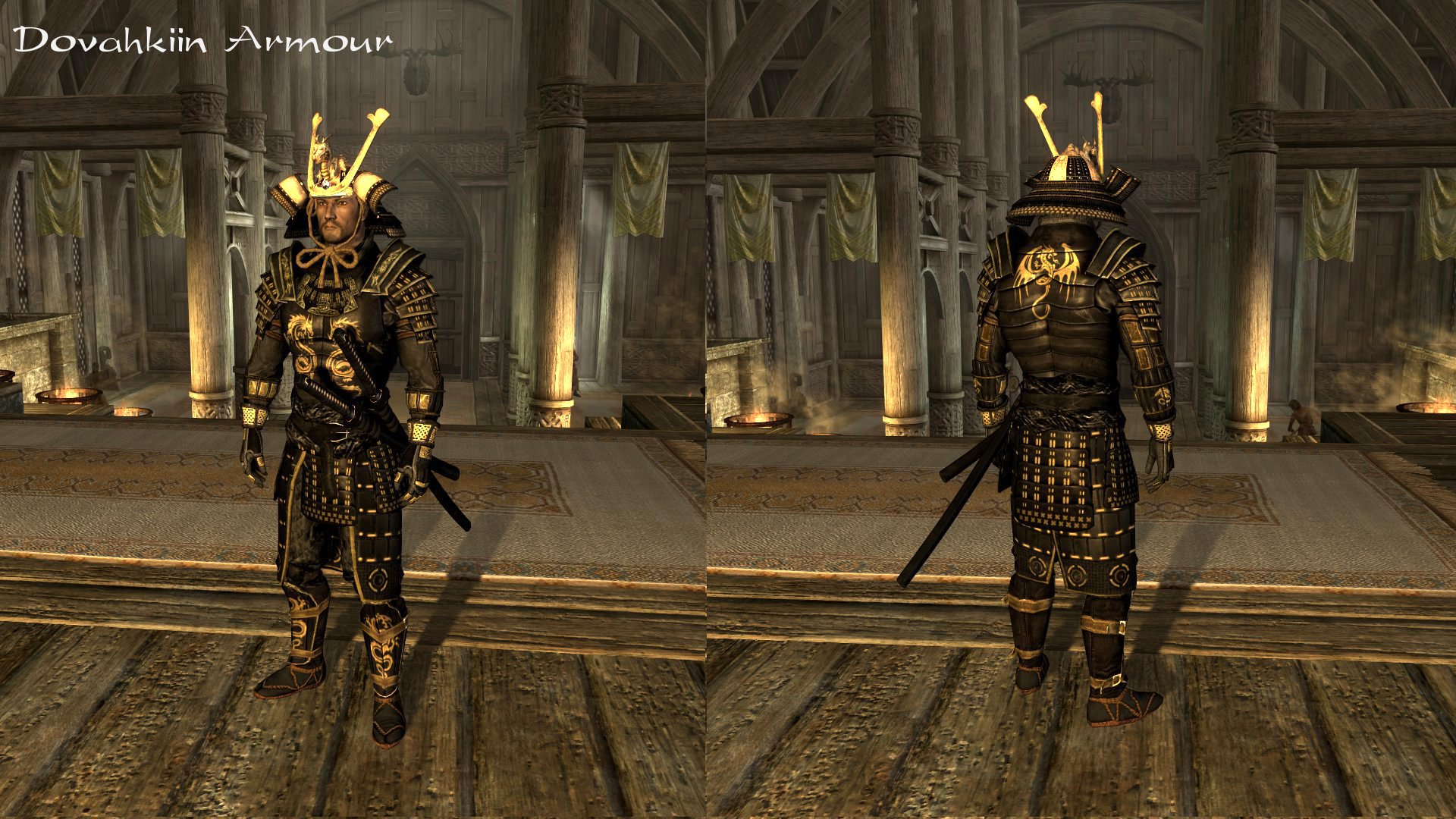 Blades Samurai Armour And Kimonos At Skyrim Nexus Mods