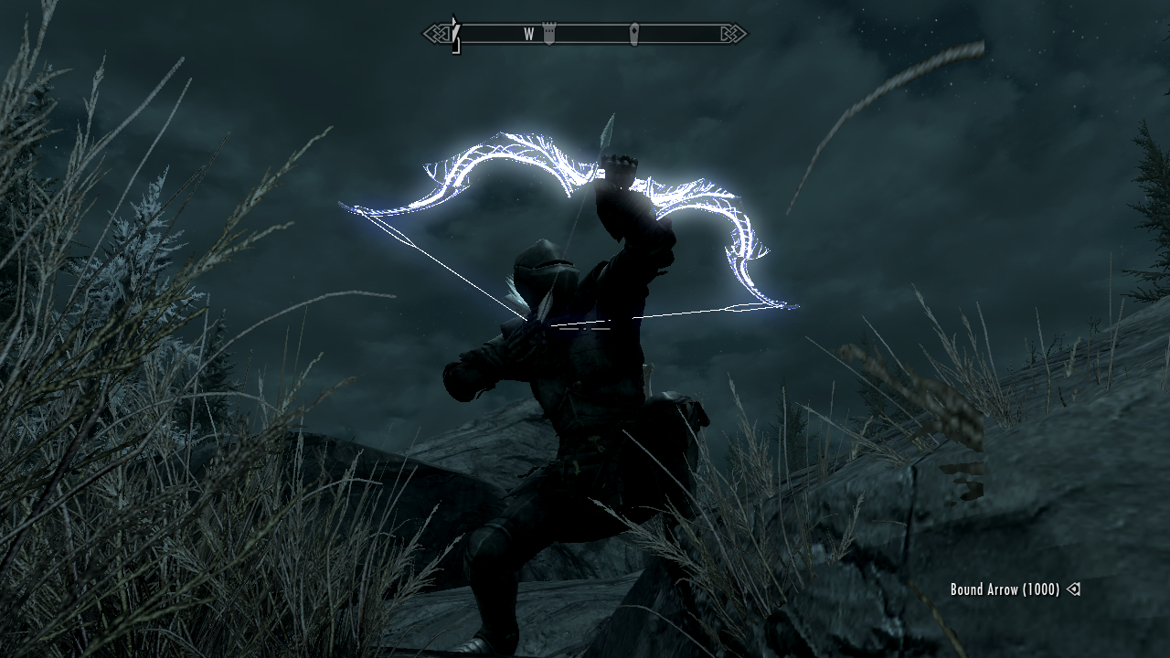how to give yourself bound weapons skyrim