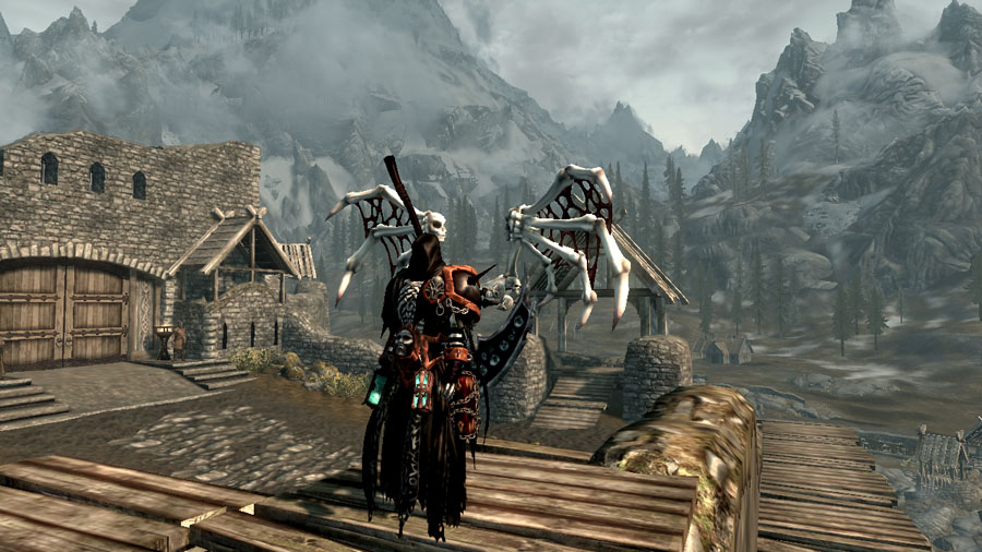 Darksiders 2 Reaper Form robes at Skyrim Nexus - mods and community