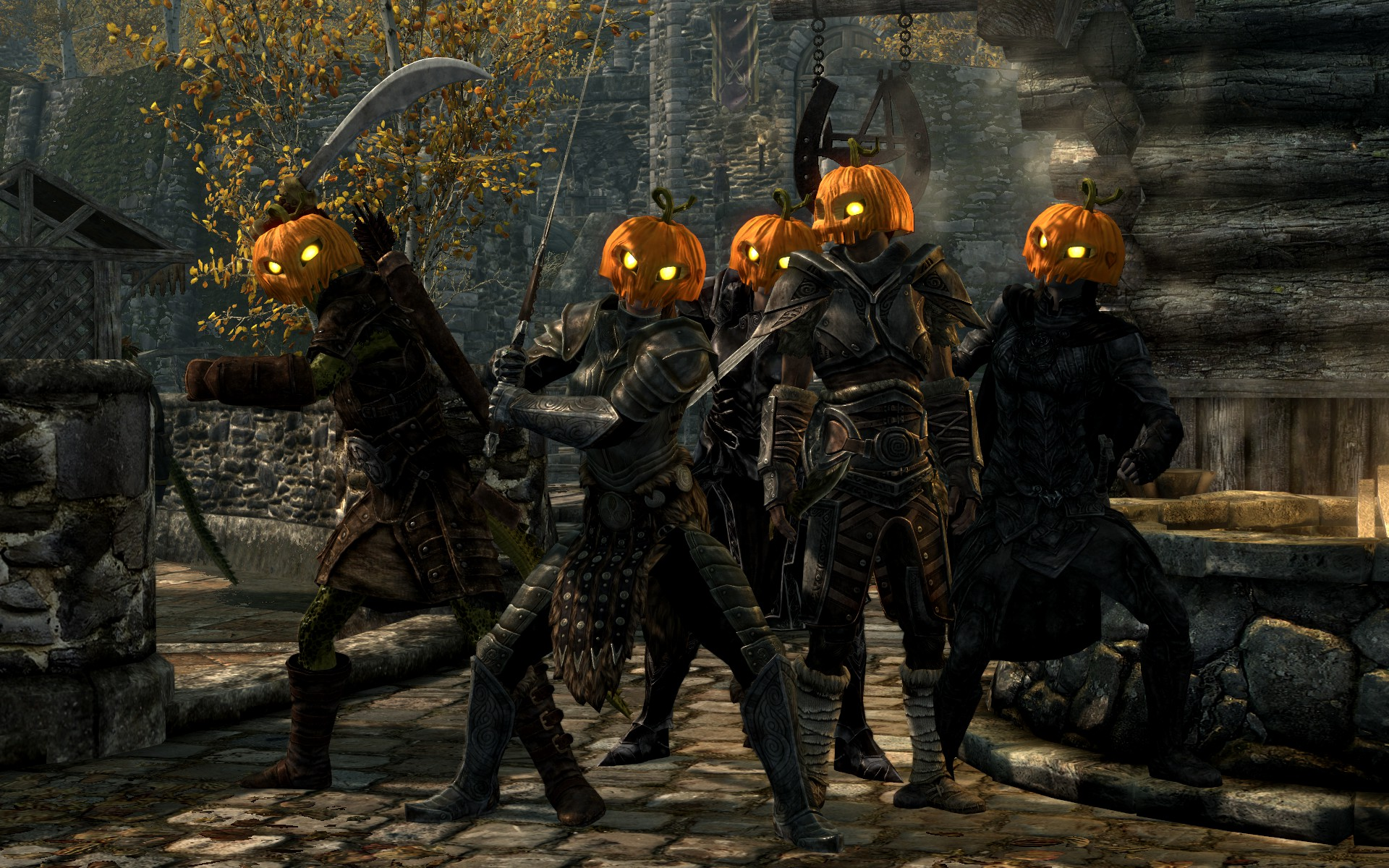 Related keywords suggestions for skyrim pumpkin