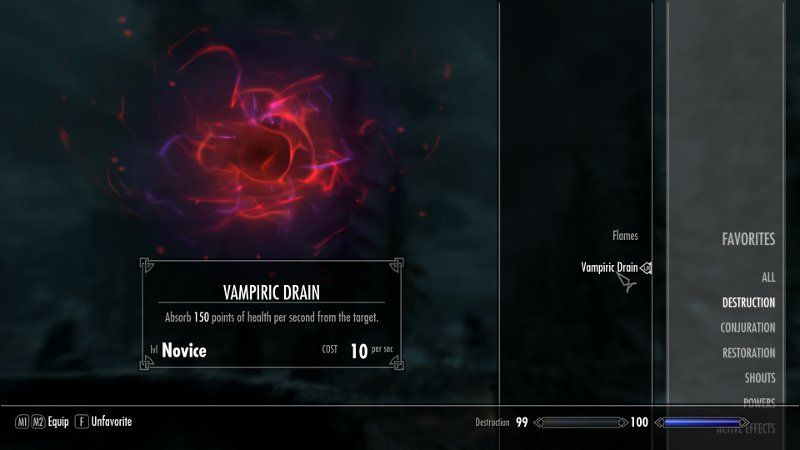 How do you learn new spells in The Elder Scrolls V Skyrim?