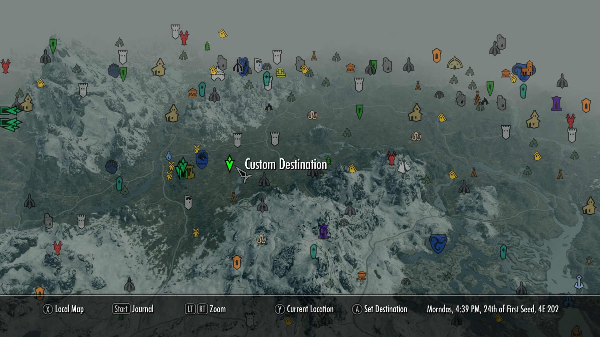 ezes colored map markers at skyrim nexus mods and munity