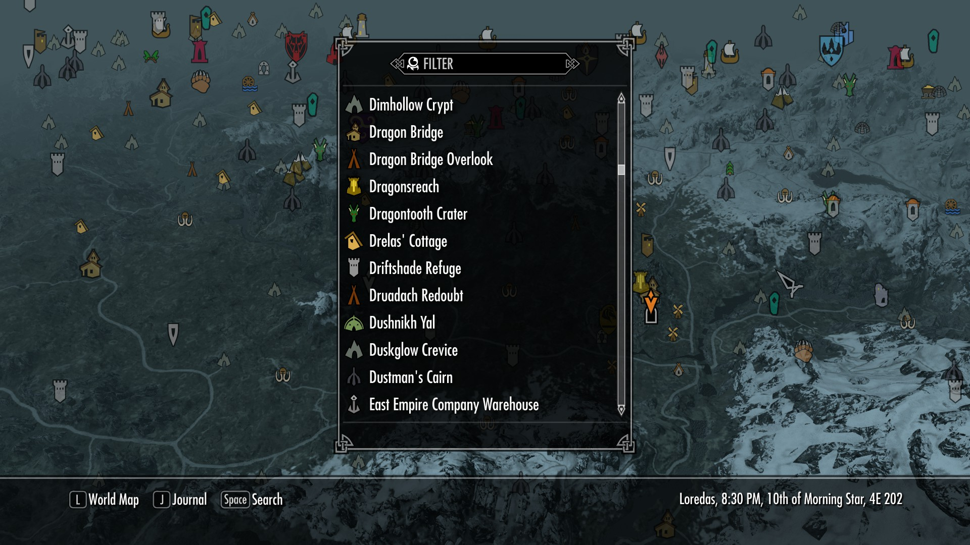 EzEs Colored Map Markers At Skyrim Nexus