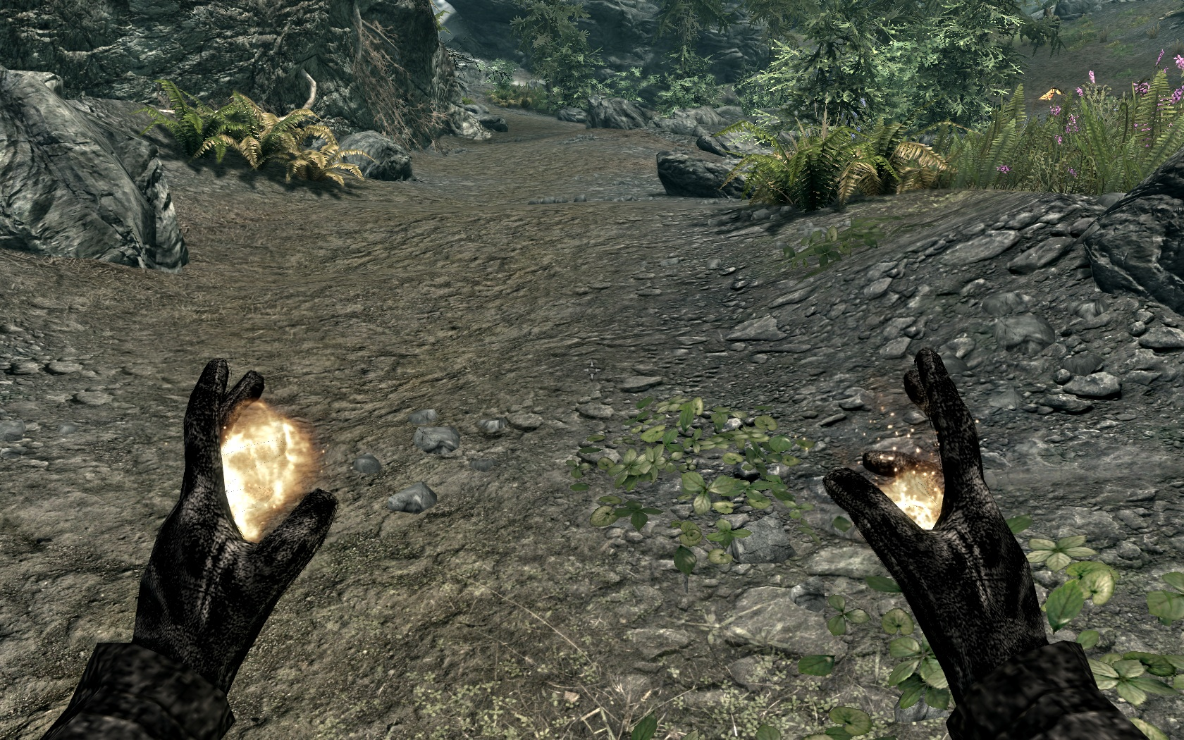 Black gloves skyrim -