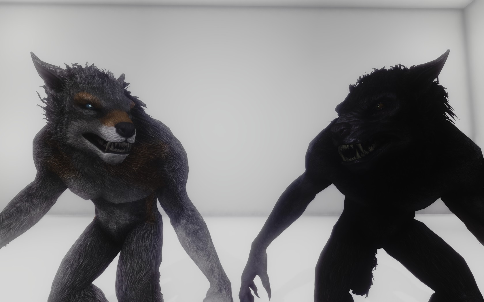 Unique Player Werewolves at Skyrim Nexus - mods and community