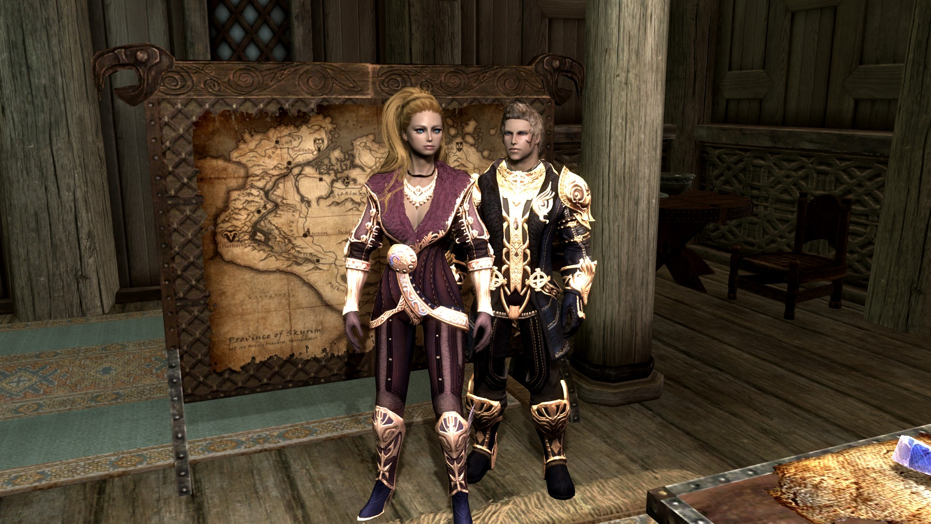 Tera armors For Skyrim - UNP at Skyrim Nexus - mods and
