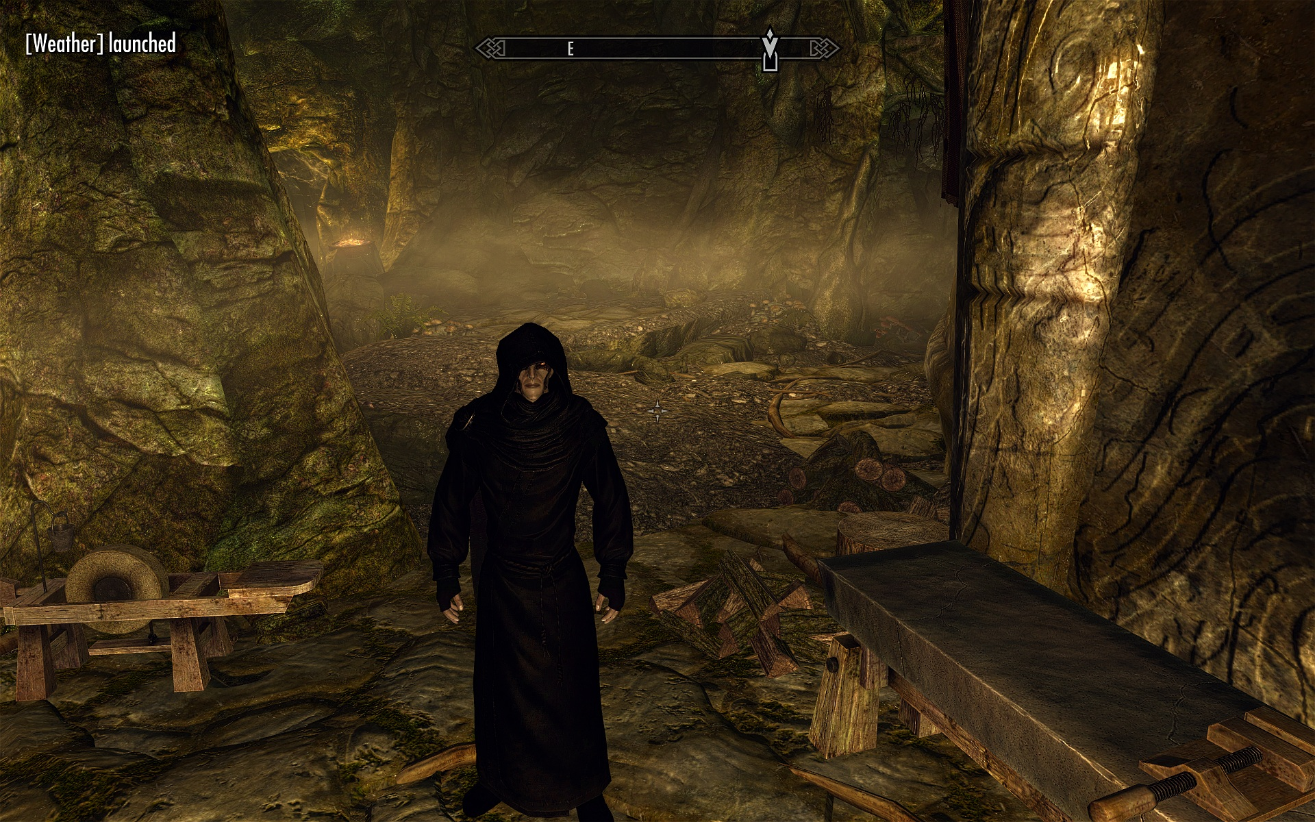 Black Dark Brotherhood Robe Two Versions Black And Blacker At Skyrim Nexus Mods And Community