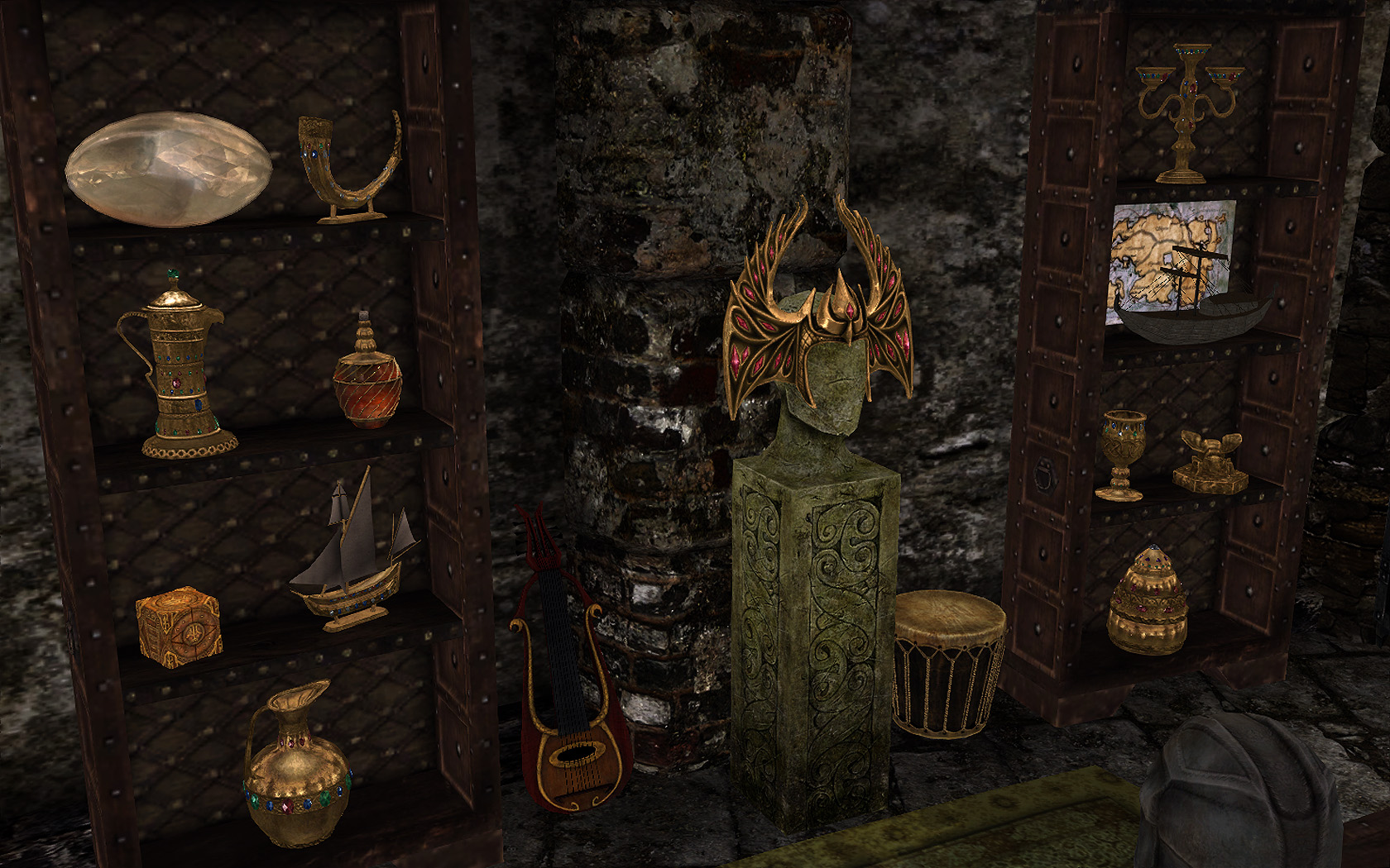 skyrim real gold trophies by starz82 mods step