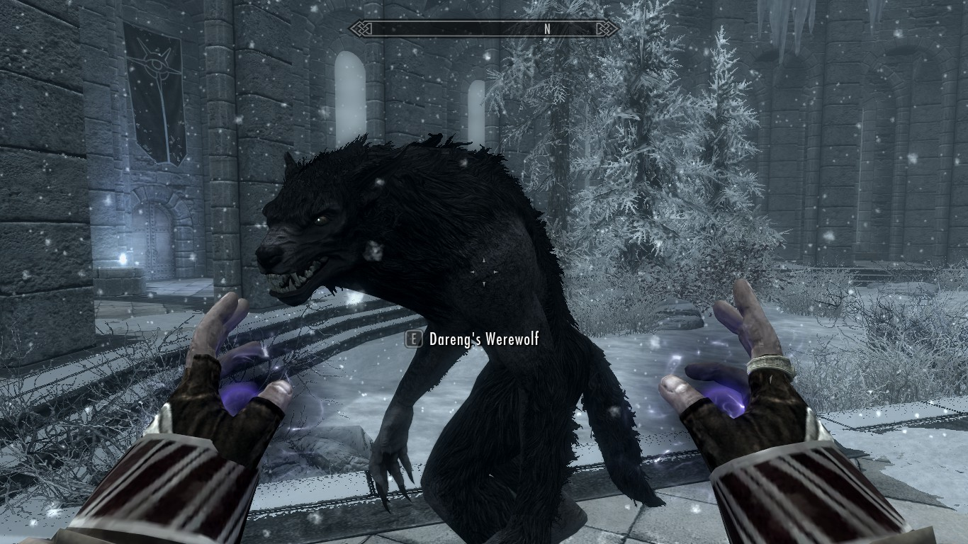 Summon Werewolf At Skyrim Nexus Mods And Community