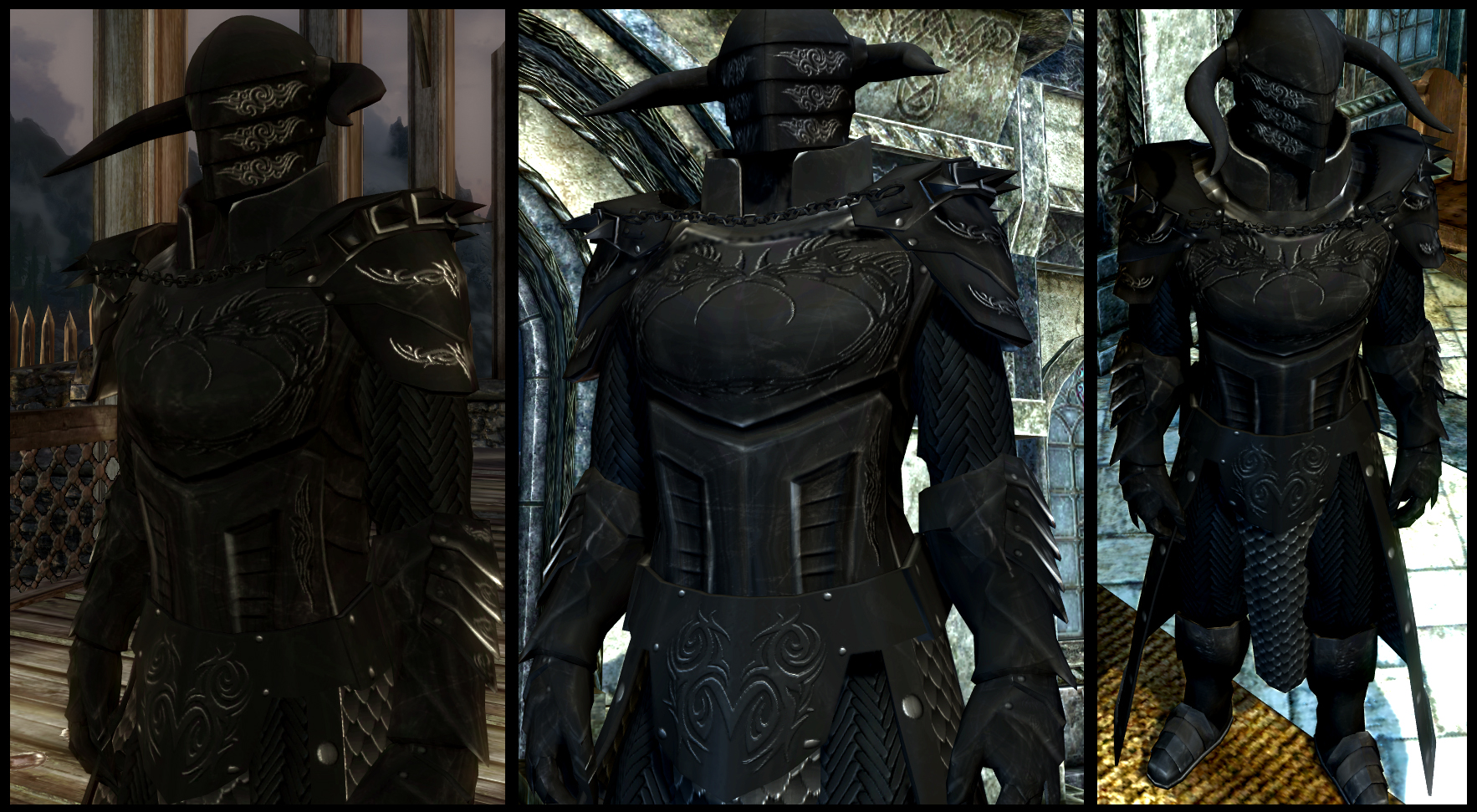 black overlord armor at skyrim nexus mods and community Xbox 360 Game Manuals Xbox 360 Console Instruction Manual