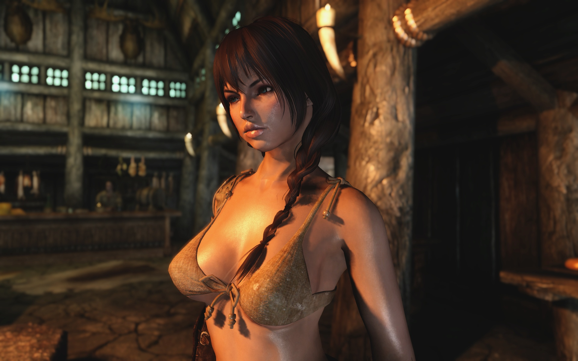 Skyrim porn patch naked women